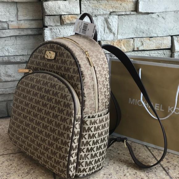 Michael Kors Bags New 348 Abbey Mk Backpack Handbag Poshmark